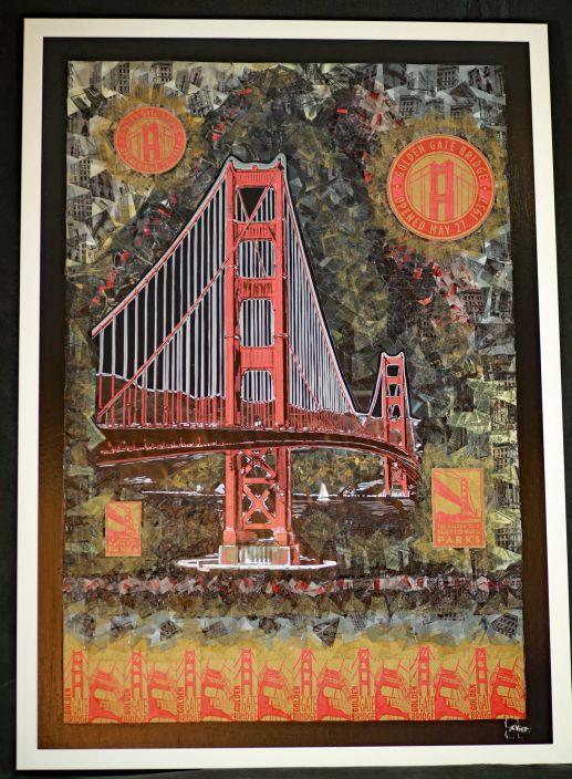Golden Gate Bridge Black – 2017