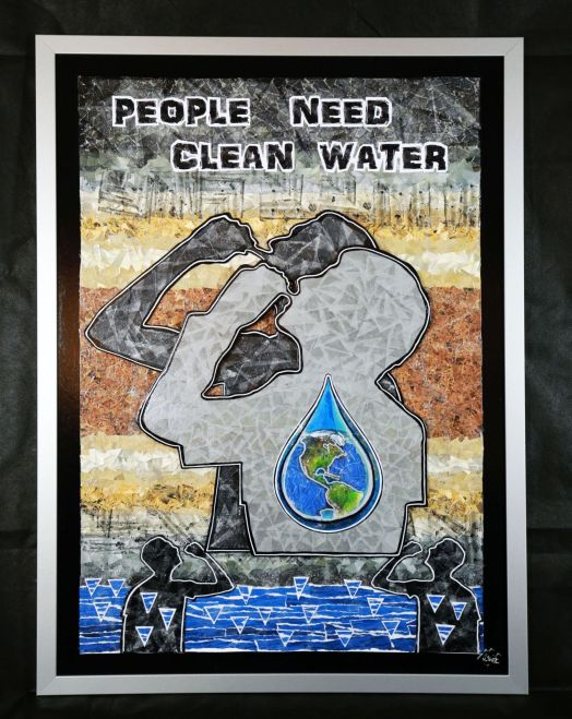 "People need clean Water – ""For our World"" – 2017"