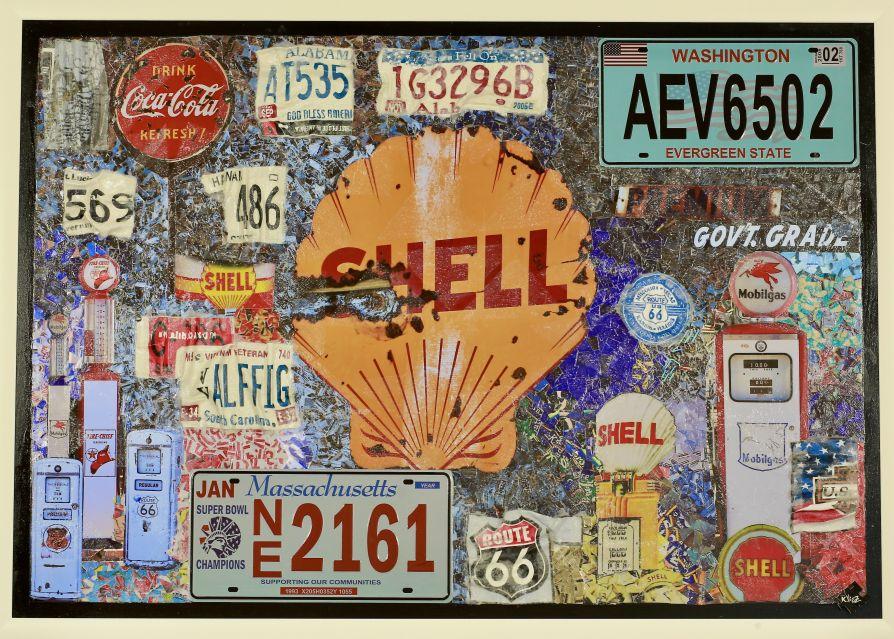 "Gasoline Serie 2020 – ""Shell Gasoline Station"" – 2020"